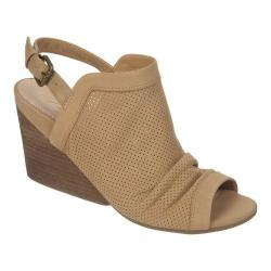 Women's Naya Luxor Wedge Corda Tan Nubuck/Leather