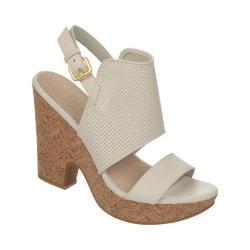 Women's Naya Misty Sandal White Sally Leather