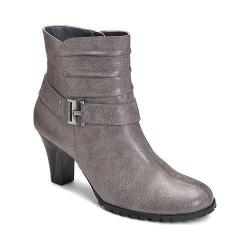 Women's A2 by Aerosoles Sleep Walk Ankle Boot Grey Faux Leather
