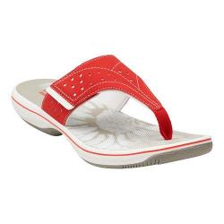 Women's Clarks Brinkley Star Red Synthetic