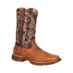 Women's Durango Boot DRD0049 10in Pull-On Ramped Up Lady Rebel Tan/Brown Leather
