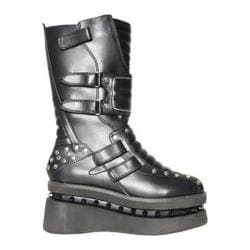 Women's Hades Storm Platform Boot Black Polyurethane