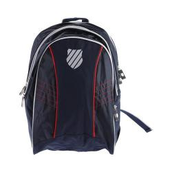 Men's K-Swiss Ibiza Backpack Junior Navy/Red/White