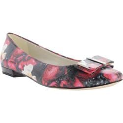 Women's Anne Klein Enticed Flat Red Multi Floral