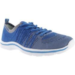 Women's Anne Klein Weekend Sneaker Blue/Grey Multi Fabric