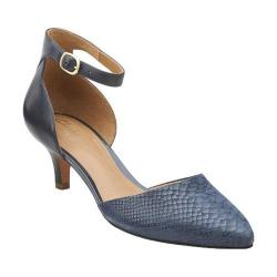 Women's Clarks Sage Glamor Navy Combination Leather