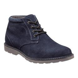 Men's Nunn Bush Tomah Ankle Boot Navy Suede