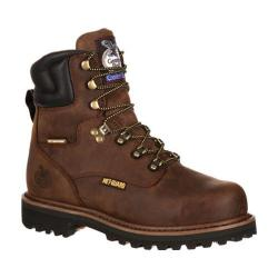 Men's Georgia Boot GB00028 8in Internal Met-Guard Hammer Steel Toe Muddy River Leather