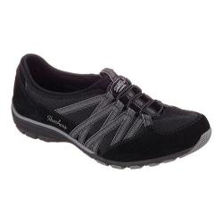 Women's Skechers Relaxed Fit Conversations Bungee Sneaker Holding Aces/Black/Charcoal