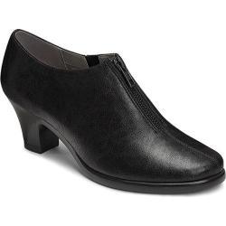 Women's Aerosoles E Mail Bootie Black Faux Leather