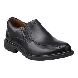 Men's Clarks Un.Slip Black Leather