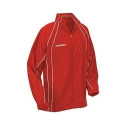 Men's Diadora Coppa Rain Jacket Red