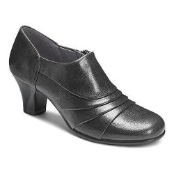 Women's A2 by Aerosoles Chariot Black Faux Leather