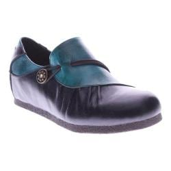 Women's L'Artiste by Spring Step Clove Navy Multi Leather