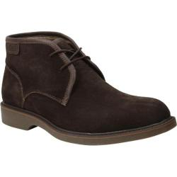 Men's Bass Pershing Chukka Boot Dark Brown Suede