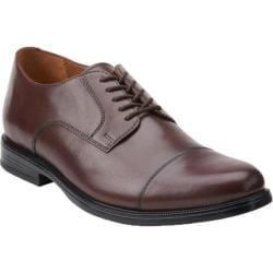 Men's Bostonian Kinnon Cap Toe Oxford Brown Leather