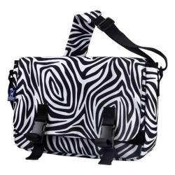 Wildkin Zebra Jumpstart Messenger Bag