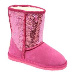 Girls' Lamo Sequin Boot Hot Pink