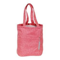 Everest Laptop/Tablet Tote Bag Coral/Grey
