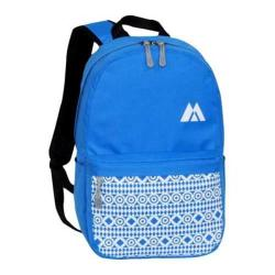 Everest Printed Pattern Backpack Royal Blue