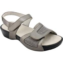 Women's Propet Khloe Pewter Leather