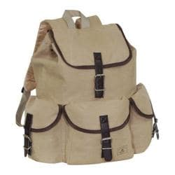 Everest Canvas Rucksack Khaki