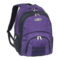 Everest Laptop Computer Backpack Eggplant