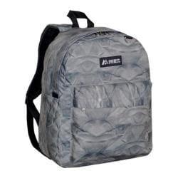 Everest Pattern Printed Backpack (Set of 2) Grey Rock