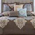 Madison Park Barnett 7-piece Cotton Damask Comforter Set
