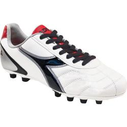 Men's Diadora Capitano LT MD PU White/Black/Red