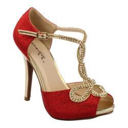 Women's Da Viccino Tiara-2 Red Heels