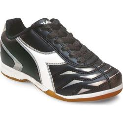 Children's Diadora Capitano ID JR Black/White/Silver