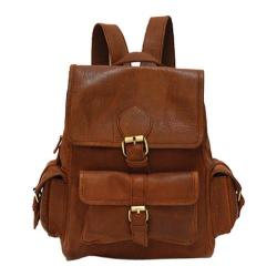 Women's Mo & Co. Bags Sadie Backpack Rich Brown