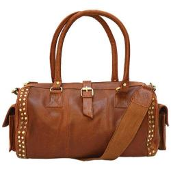Women's Mo & Co. Bags Scout Duffle Rich Brown