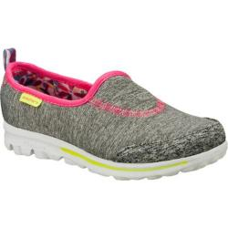 Girls' Skechers GOwalk Interval Gray/Multi