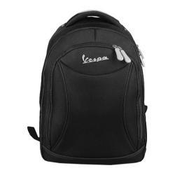 Vespa Nylon Laptop Backpack Black