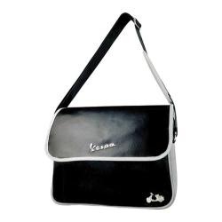 Vespa Scooter Messenger Bag Black Vespa