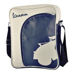Vespa Big Pocket Shoulder Bag Blue