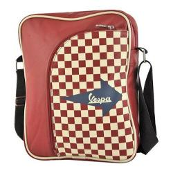 Vespa Big Pocket Shoulder Bag Red