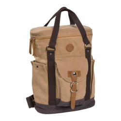 Laurex Canvas Cargo Backpack/Tote 1218 Khaki