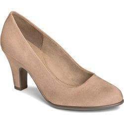 Women's Aerosoles Tapestry Pump Taupe Faux Suede