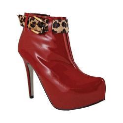 Women's Bruno Menegatti 1473610 Ruby/Leopard