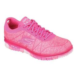 Women's Skechers GO FLEX Walk Ability Sneaker Hot Pink