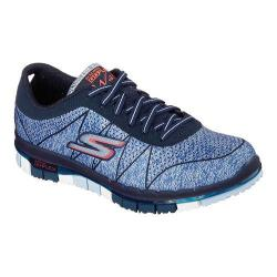 Women's Skechers GO FLEX Walk Ability Sneaker Navy/Blue