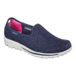 Women's Skechers GOwalk Affix Slip On Navy