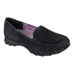 Women's Skechers Relaxed Fit Bikers Traffic Loafer Black