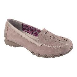 Women's Skechers Relaxed Fit Bikers Wanderer Loafer Dark Taupe