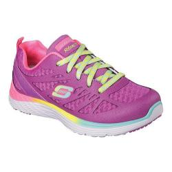 Girls' Skechers Relaxed Fit Valeris Sneaker Purple/Multi
