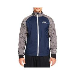 Men's Skechers Remastered Foundation Jacket Navy/Charcoal