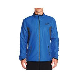 Men's Skechers Remastered Torque Windbreaker Jacket Blue